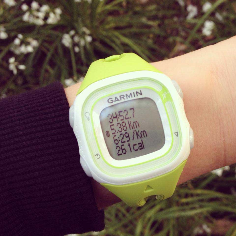 Garmin Forerunner 10 GPS watch review   Strawberry Squeeze 5