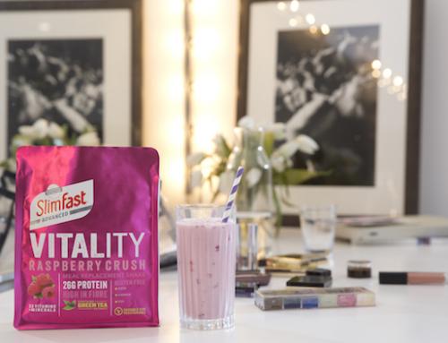 Why I'm Obsessed with SlimFast Advanced Vitality Powders*