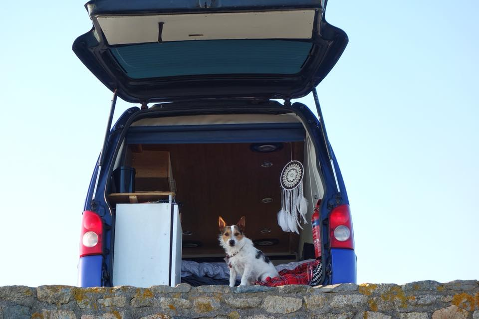 Touring Cornwall in our converted campervan, Boris!