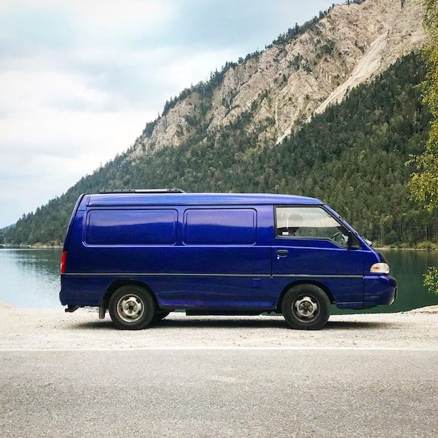 Van Life Tour: Our Custom 1999 Hyundai H100 Van Conversion