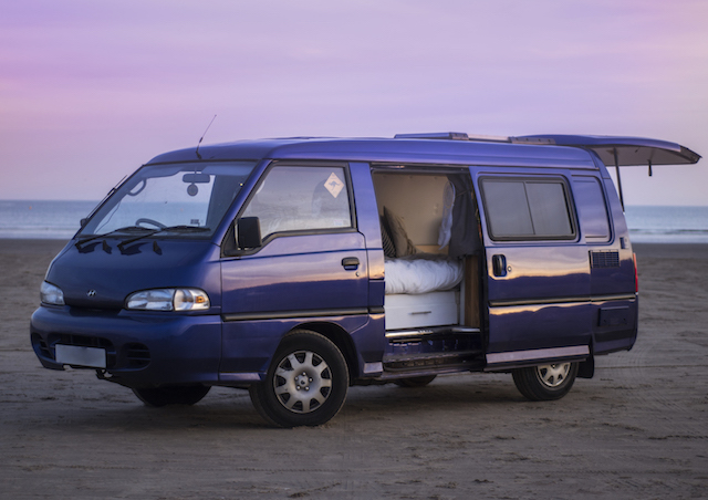 Van Life Tour: Our Custom 1999 Hyundai H100 Van Conversion   UK Lifestyle Blog